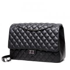 Women's Handbag Travel Bag Mummy bag High Quality PU 38cm Black 38cm