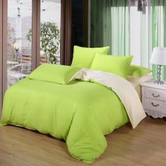 Now Duvet Cover 100% Polyester 4PCS Bedding set Green Pillow Green 4*6
