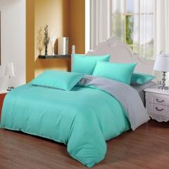 Now Duvet Cover 100% Polyester 4PCS Bedding set Green Pillow Dark green 4*6