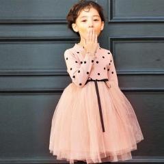 Children Kids Dress Halloween Girls Princess Skirt Tutu Dress Pink 90