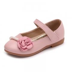 New Children Princess Lether Shoes Sequins Wedding Kids Shoes Pink eur 26