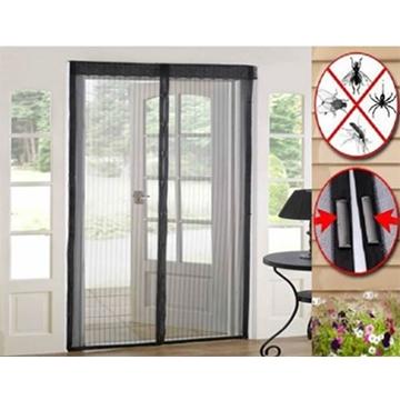 Magnetic Door Mosquito Net Black Size