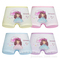 4 pack Children's cotton underwear female cartoon printed baby girls underwear boxer briefs panties 10 L(suit for 6-8 year)