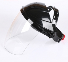 Safety Protective Face Mask Anti Splash Lampblack Cooking Masks Welding Helmet As picture One Size