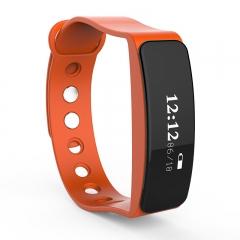 IP65 Waterproof Smart Watch Bluetooth Sport Watch LED Smart Bracelet Wristband for Android IOS orange