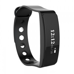 IP65 Waterproof Smart Watch Bluetooth Sport Watch LED Smart Bracelet Wristband for Android IOS black