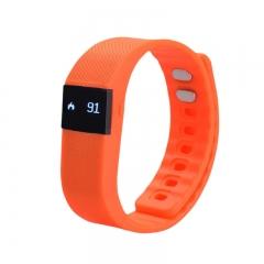 Bluetooth Smartwatch Sport Watch Smart Watch Heart Rate Smart Bracelet for Android IOS Warterproof orange