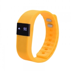 Bluetooth Smartwatch Sport Watch Smart Watch Heart Rate Smart Bracelet for Android IOS Warterproof yellow
