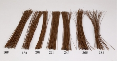 50/100Lines Floral Wire Flower Stem Wrap Tape 16 18 20 22 24 26 28 gauge