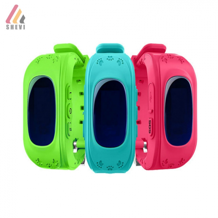 Children Kids OLED Display GPS Intelligent Watch Telephone Smart with SOS ANDROID red one size