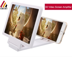 Screen Magnifier Eyes Protection Display 3D Video Screen Amplifier Folding Enlarged Expander white One Size NO na