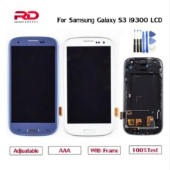 LCD For Samsung Galaxy S3 LCD Display Touch Screen Digitizer For SAMSUNG S3 Neo I9300i I9308i I9301i Blue with tools S3