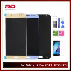 For Samsung Galaxy J7 Pro 2017 J730 SM-J730F J730FM/DS J730F/DS J730GM/DS LCD Screen black J730 AAA