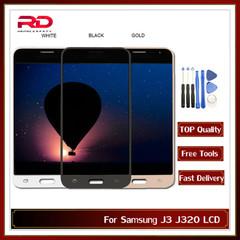 J3 2016 LCD TFT For Samsung Galaxy J3 J320 J320A J320F Display J320M Touch Screen black with tools J3 2016