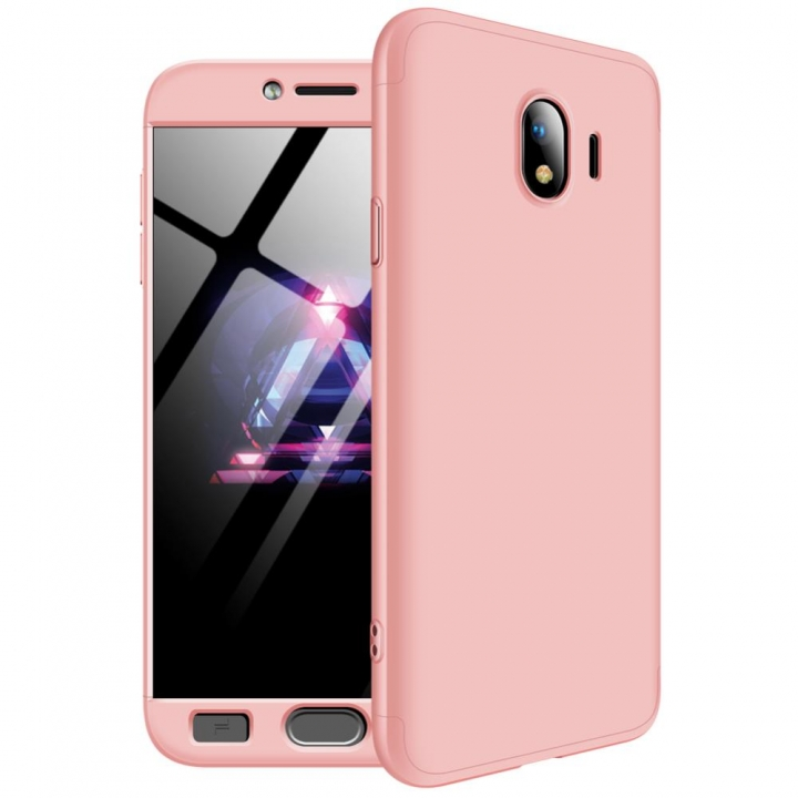 timeless design 69de9 ff7f9 Frosted Hard PC Back Cover Full Body Shockproof Protective 3 Parts Case for  Samsung Galaxy J4 6 etc pink Samsung Galaxy J2 Pro