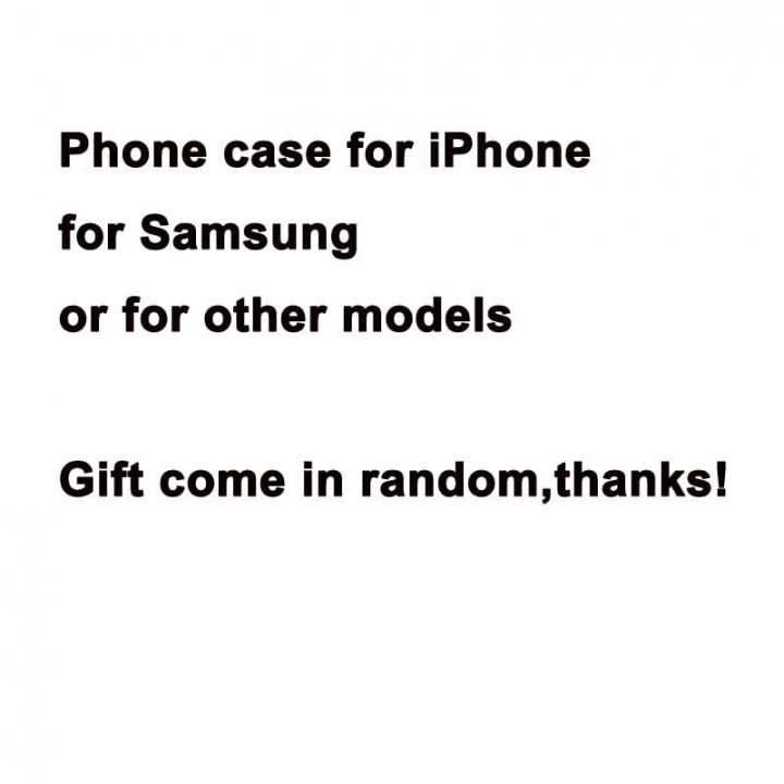 GIFT Phone Case Cover for iPhone Samsung or Other Models in Random Random Random