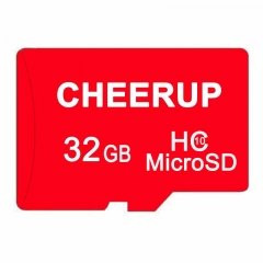 CHEERUP 32GB 32G Class10 TF Card Micro SD Memory Card + Reader red micro sd 32gb flash