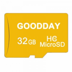 GOODDAY 32GB 32G Class10 TF Card Micro SD Memory Card + Reader golden micro sd 32gb flash