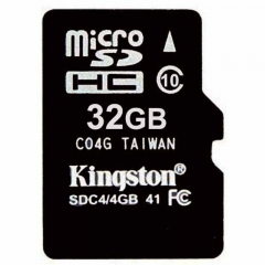 Kingston 32GB 32G Class10 TF Card Micro SD + Reader micro sd 32gb