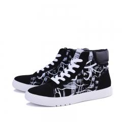Men Casual Shoes Trainers Flat Shoes Street Style Hip-hop Dance Man Shoes #3 43