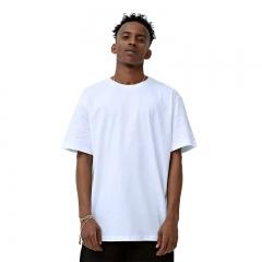 New Fashion T-shirt Brand Clothing Unisex Solid T-Shirt Short Sleeve Tops Black White black XS