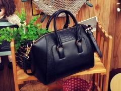 Crocodile pu leather Women Bag Handbags quality Lady Shoulder Crossbody Bags fringed Messenger Bag black one size