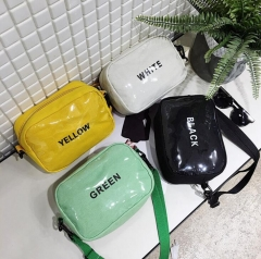 Women Messenger Bag Handbags Mini Shoulder  Bag Casual Girls Clutches Purses Cell Phone Pouch white one size