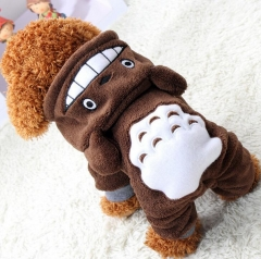 Warm Dog Clothes For Small Dogs Soft Winter Pet Clothing Clothes Winter Chihuahua Cartoon Pet Outfit