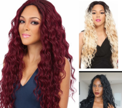 Lace Human Hair Wigs For Women Color Brazilian Lace Wig Frontal Plucked Full End wine red as picture
