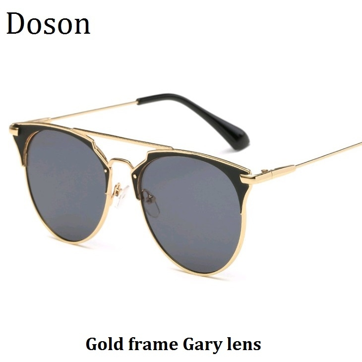 0fd4833fe8 ... Sun Glasses Women Female Ladies Vintage Mirror Sunglasses Girl Gold  frame Gary lens one size  Product No  422993. Item specifics  Brand
