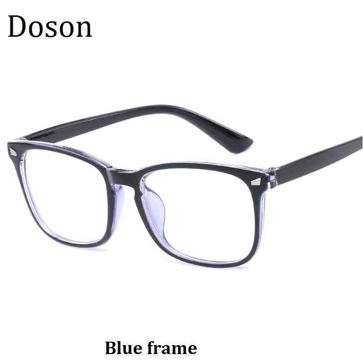 12a8ed6dacb 2018 Newest Fashion Vintage Glasses Men Women Myopia Eyeglasses Frames  Retro Optical Glasses Ladies Blue frame one size  Product No  433203. Item  specifics ...
