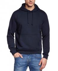 Men's Fashion Hoodies Winter Harajuku Fitness Streetwear Hip-Hop Tracksuits Pullover Sweatshirts navy blue L