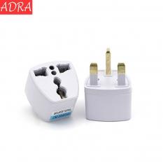 ADRA UK Plug Adatper Universal Socket British Standard Travelling Gadget 10A 250V White