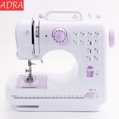 ADRA Home Tool 12Stitches Automatic Mini Sewing Machine Knitting Multifunction Presser Foot UK As pictures