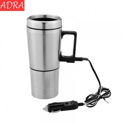 ADRA 12V 70W Car Hot Water Cup Car Electric Cup Car Heating Cup With Double Cup 300ML