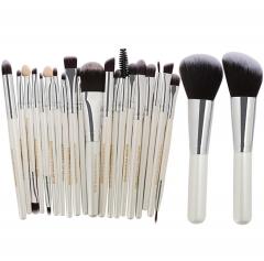ADRA 22pcs Fashion Ladies Cosmetic Makeup Brush Beauty Tools Blusher Eye Shadow Brushes Set White