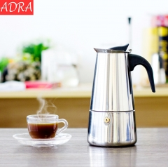 ADRA 200ML 4Cups Moka Espresso Coffee Maker Coffee Pot Percolator Tools Cafetiere Pot Moka Pot