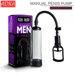 ADRA Male masturbation Penis Enlargement Vacuum Pump Adult Products Sex Toys For Men as picture one size