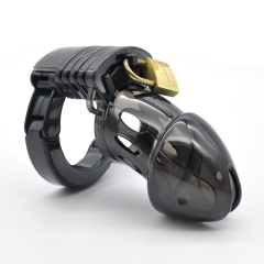 Mens Cock Lock Chastity Device Penis Cage Sex Toys For Men Male Chastity Devices Bird Cages black adjustable
