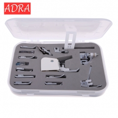 ADRA Sewing Machine Presser/Walking Feet Kit 15 in 1 Set sewing machine/sewing machine presser foot as pictures