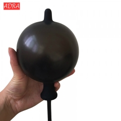 Anal Dildo Inflatable Butt Plug Expandable Inflate Anal Plug Dildo Air-filled Pump Sex Toys black adjustable