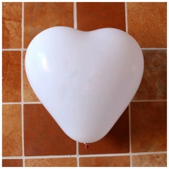 10pcs Heart Balloons White Purple Latex Ballon Birthday Wedding Birthday Party Decoratio WHITE HEART ONE SIZE