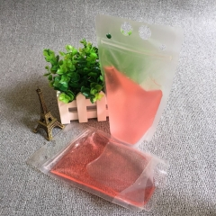 20PCS ,450ml Stand Up Plastic Drink Packaging Bag Pouch for Water Juice Milk Coffee FREE straw NO PRINTING 23CM*13CM