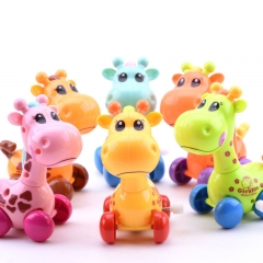 Funny Clockwork Toy Baby Cute Running Giraffe Baby Wind Up Gift For Children RANDOM COLOR one size