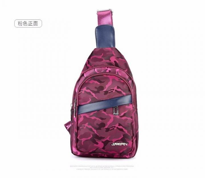 e09c787f7bc Women Men Fashion Bag Waterproof Portable Cool Vintage Men Nylon Messenger Sling  Bag Purple as picture