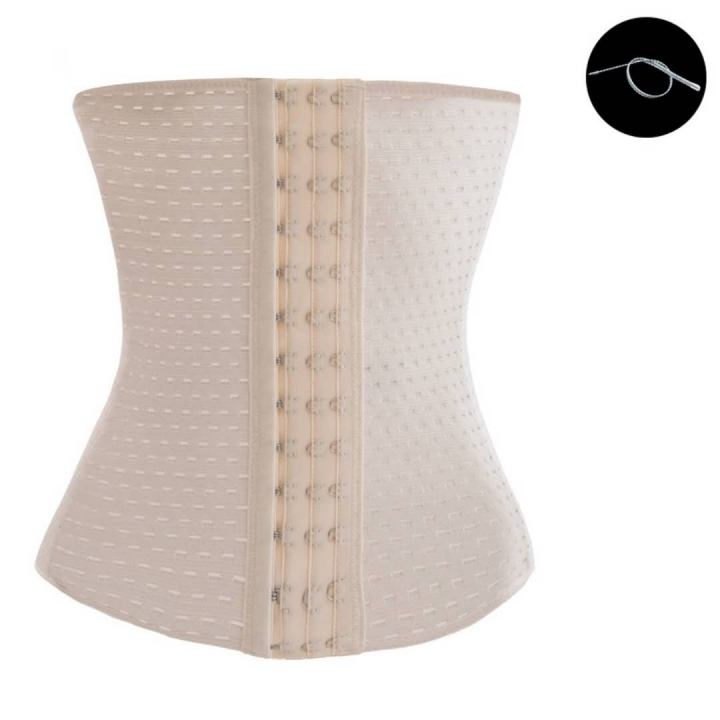 ff2ab39f30c Nero Waist Trainer Corset For Weight Loss Sport Workout Body Shaper Tummy  Fat Burner beige 4XL