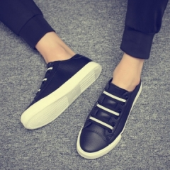 Casual shoes, men's low shoe shoes, Wu Di, the same men's shoes, Korean style shoes. black 39