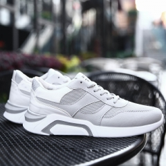 2018 new sports shoes student shoes running shoes running shoes men's shoes. gray 39