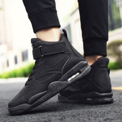 2018 in the new sports, fashion style handsome men's fashion sports shoes black 43