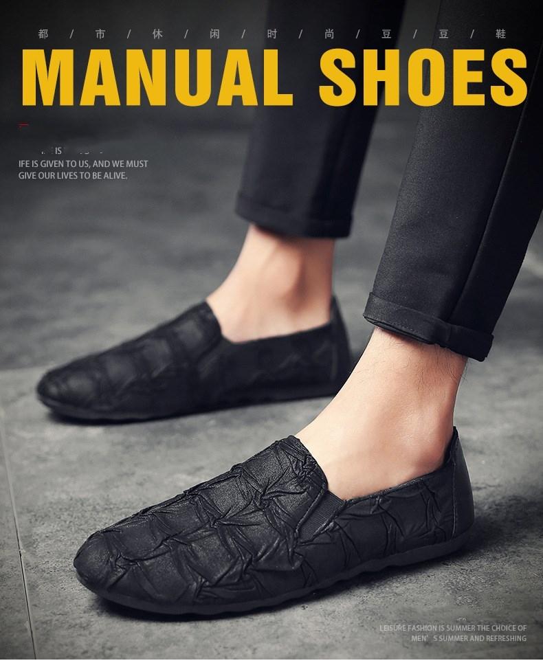 Mens Dress Shoes Summer 2019 Mens And Young Mens Real Leather Shoes Casual Leather Shoes